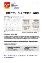 tract cgt impot taxe